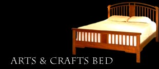 Arts & Crafts Bed