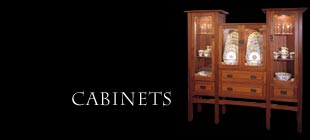Arts & Crafts Inspired Cabinets